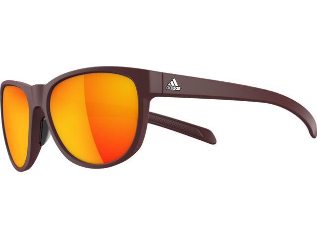 adidas Wildcharge Bril, maroon matt/maroon